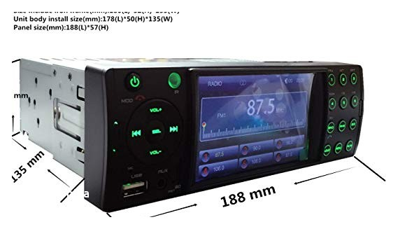 Cheap Places to Get Car Stereos Installed Amazon Cheap Car Stereo Deck System Upsztec 4202a 2017 New