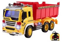 Power Wheels Dump Truck Amazon Remote Control Dump Truck Construction Rc Truck 1 16