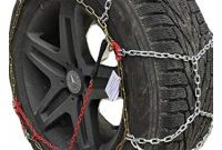 Tire Chains for Snow Plowing Amazon Tirechain Onorm B27 2327 Diamond Tire Chains Truck