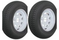 """Trailer Tire Prices at Walmart 2 Pack Trailer Wheel & Tire 425 St175 80d13 175 80 D 13"""" Lrc 5 Hole"""