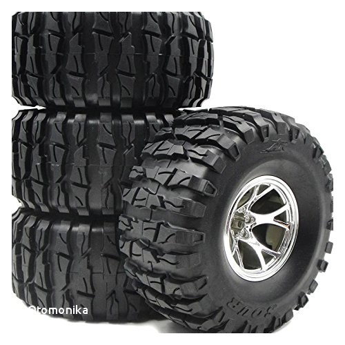 Wheel and Tire Packages for Trucks Amazon 4pcs Rc 2 2 Rock Crawler Tires Truck Tyre Ar sour 135mm