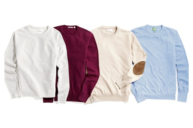 Cable and Gauge Clothing Canada the Best Men S Cashmere Crewneck Sweaters Wsj