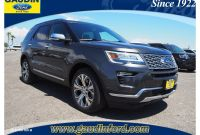 Ford Dealership Las Vegas New 2018 ford Explorer Platinum 4d Sport Utility In Las Vegas