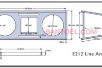 12 Inch Array Sound Box Line System Schematic + Twitter
